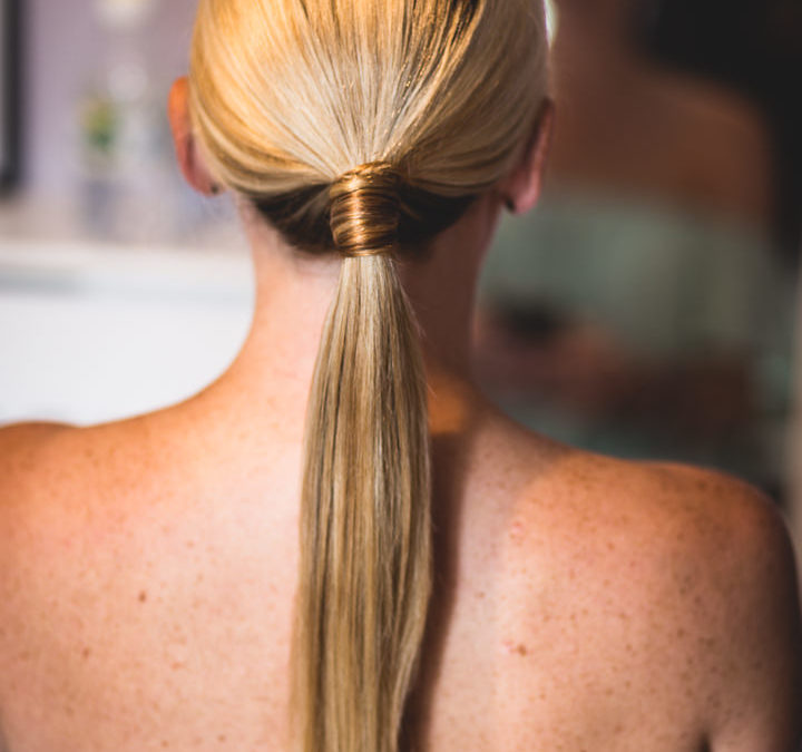 Date night hair style ponytail by Pretty Please by Katie
