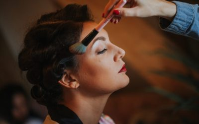 1920's Vintage inspired Glam Wedding Hair and Make up