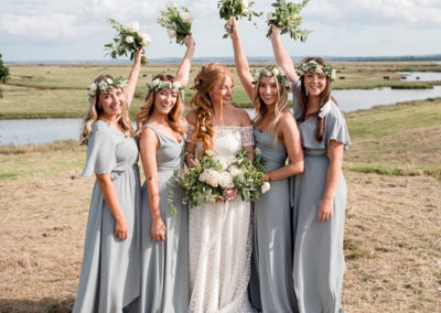 bridesmaids and bride   Pretty Please by Katie   Kent