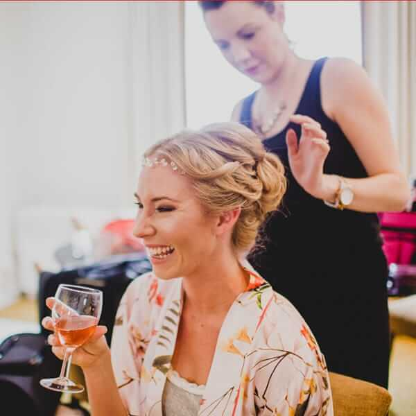 10 lies people will tell you when it comes to Wedding hair and Make Up