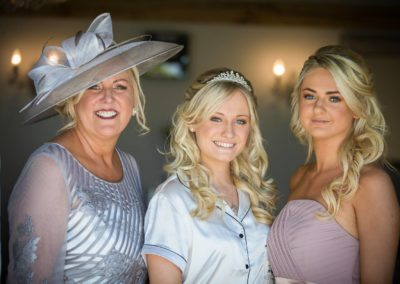 Wedding hair and make up by pretty please by katie at cooling castle barn
