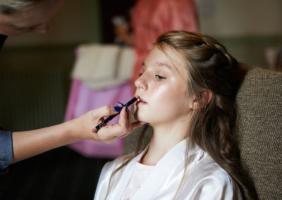 flower girl make up application by pretty please by katie