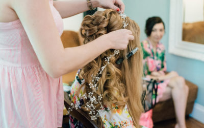 Hair or Makeup – What to do first on your wedding morning