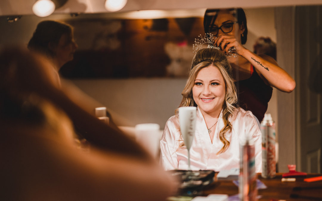 Why you DON'T need to book a separate wedding hair and make up artist for your wedding day