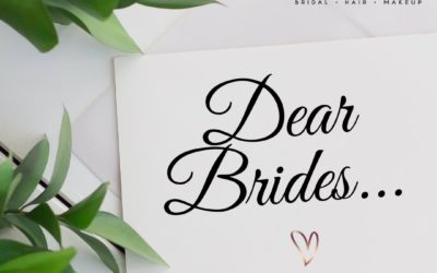 An open letter to my 2020 brides