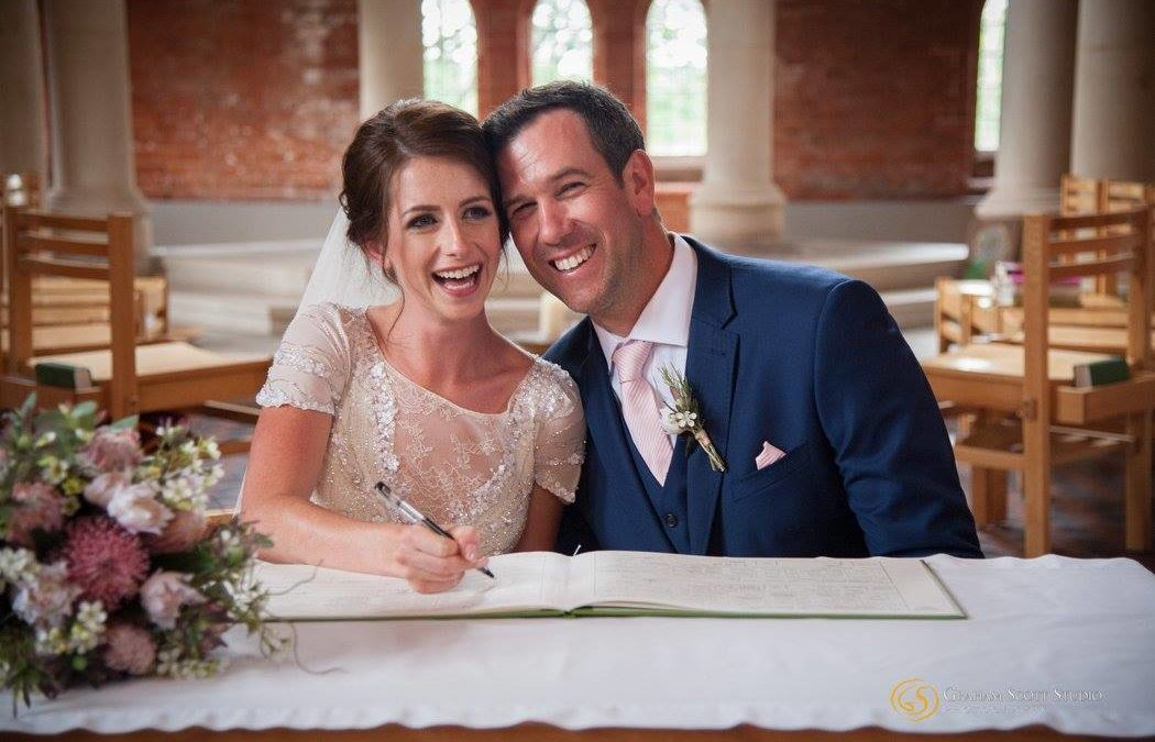 Real Bride: Wedding hair and make up for Kate at All Saints Church, West Dulwich